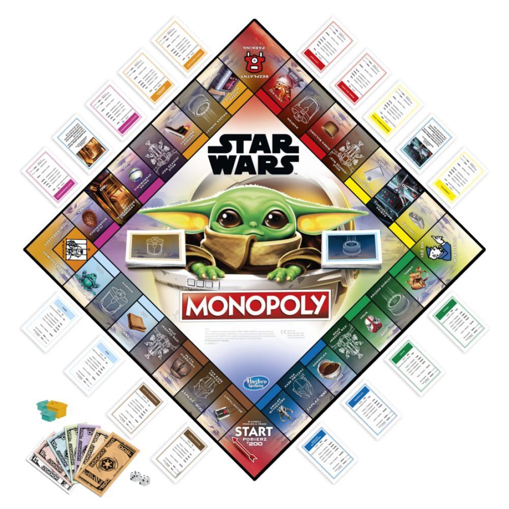 Juegos Familiares Monopoly Mandalorian, The Child image number 1.0