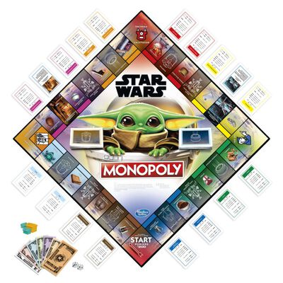 Juegos Familiares Monopoly Mandalorian, The Child