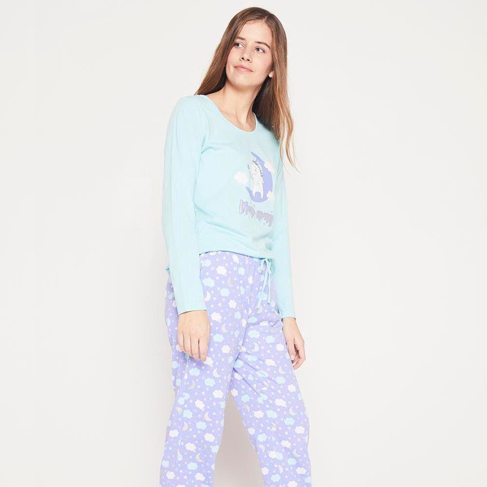 Pijama Algodón  Mujer Freedom image number 0.0