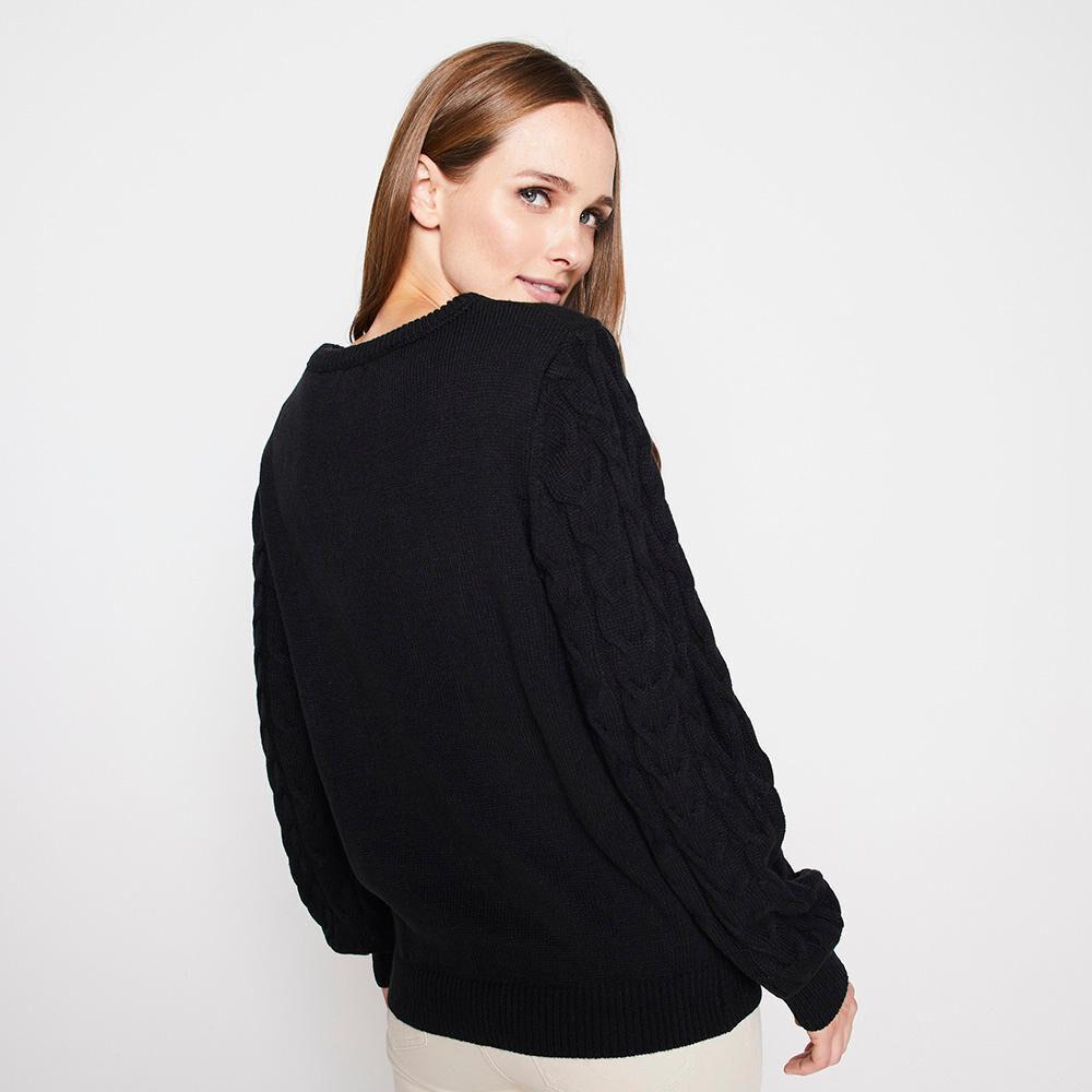Sweater Trenzado Mujer Kimera image number 2.0