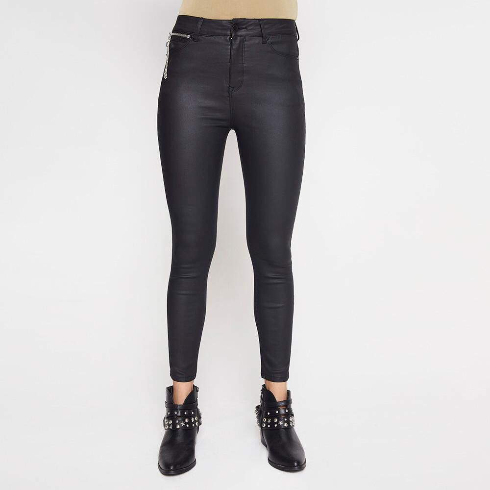 Jeans Mujer Tiro Alto PU Rolly Go image number 0.0