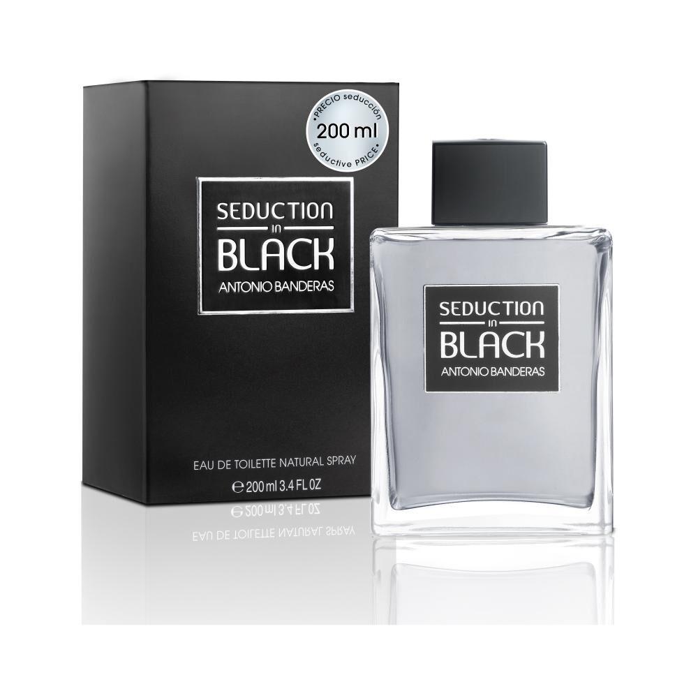Perfume Antonio Bandera Seduction In Black Edición Limitada / 200Ml / Edt image number 0.0