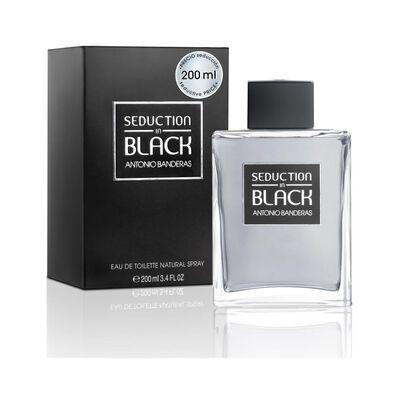 Perfume Antonio Bandera Seduction In Black Edición Limitada / 200Ml / Edt