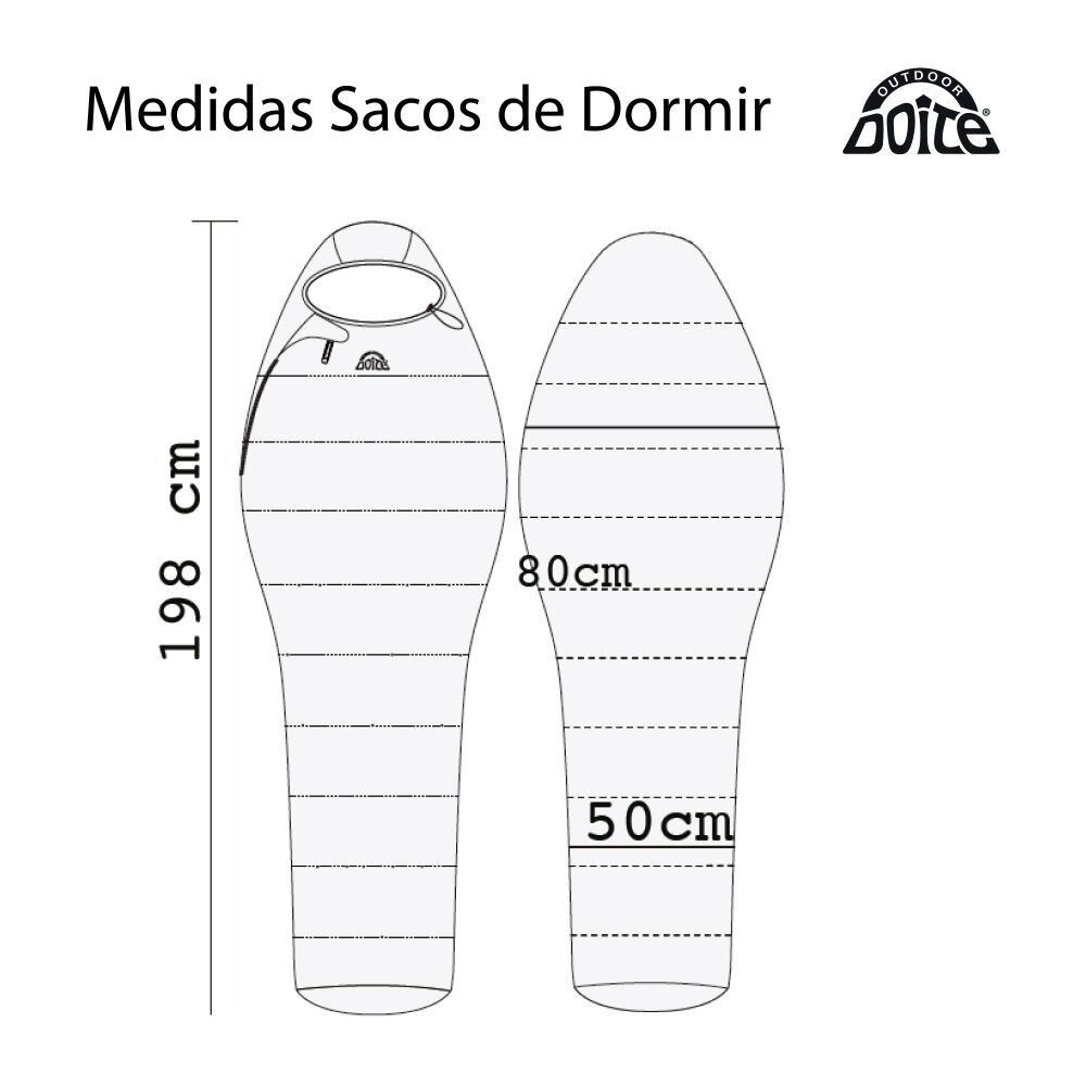 Saco De Dormir Doite Técnico Glaciar image number 2.0