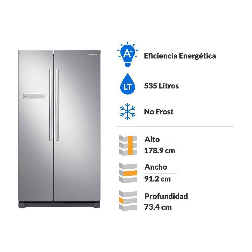 Refrigerador Side By Side Samsung Rs54N3003Sl / No Frost / 535 Litros image number 1.0