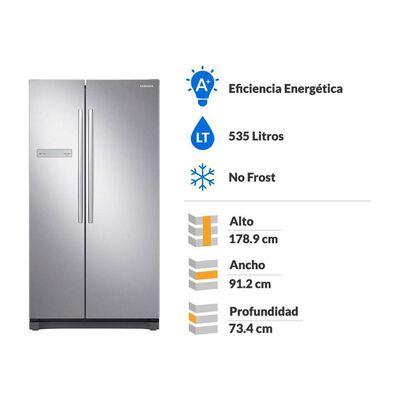 Refrigerador Side By Side Samsung Rs54N3003Sl / No Frost / 535 Litros