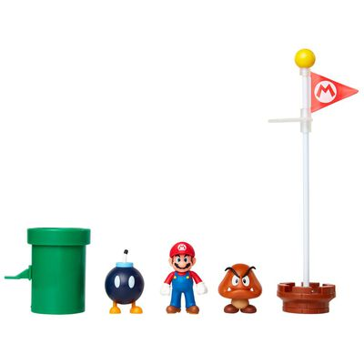 Figuras Coleccionables Nintendo Diorama Super Mario Underground