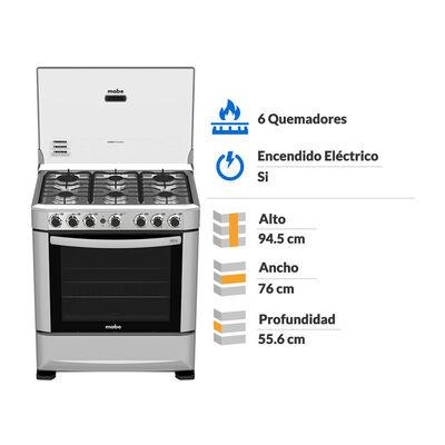 Cocina Mabe ANDES76HG0 / 6 Quemadores