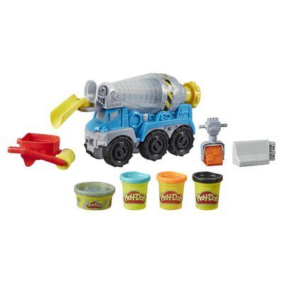 Masas Educativas Play Doh Wheels Camión De Cemento