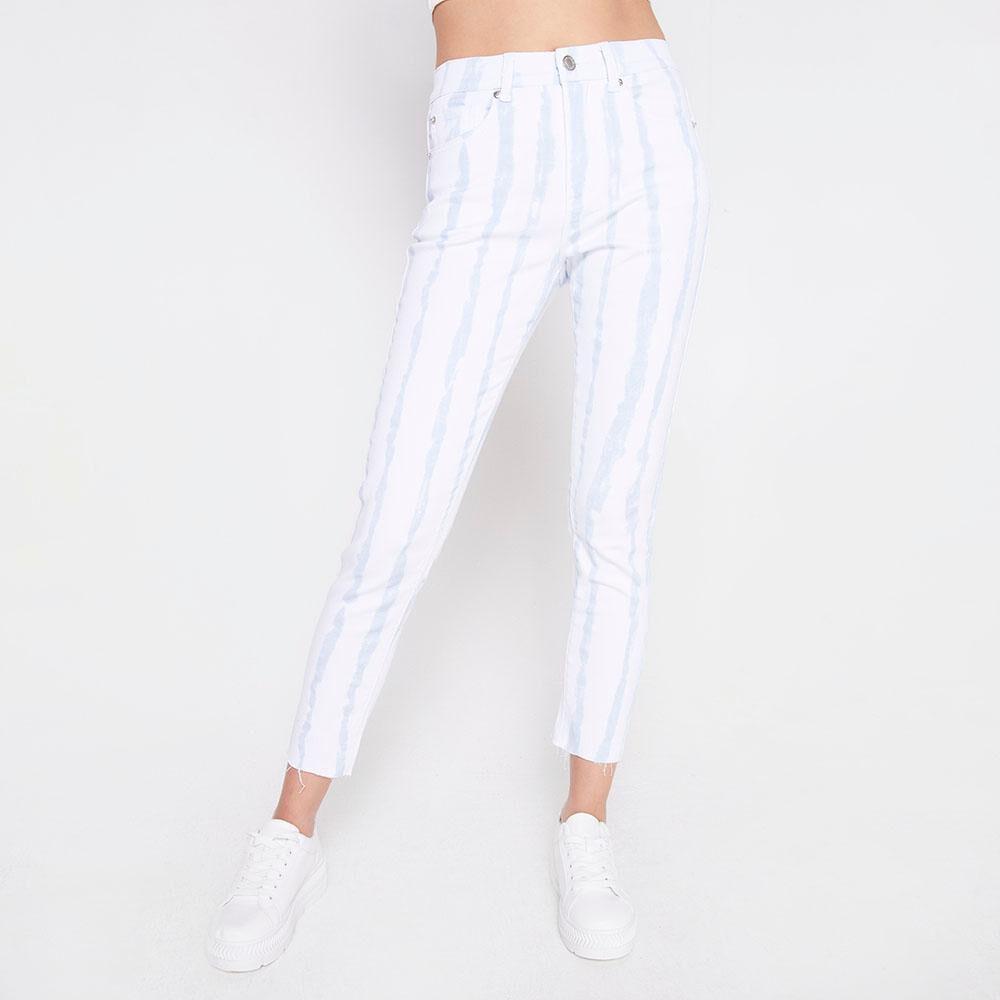 Jeans Tiro Alto Super Skinny Mujer Freedom image number 0.0
