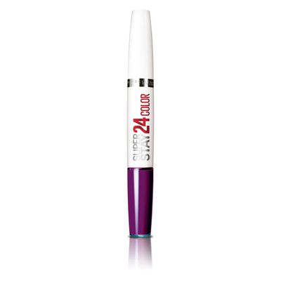 Labial Maybelline Super Stay 24Hr  / All Day Plum