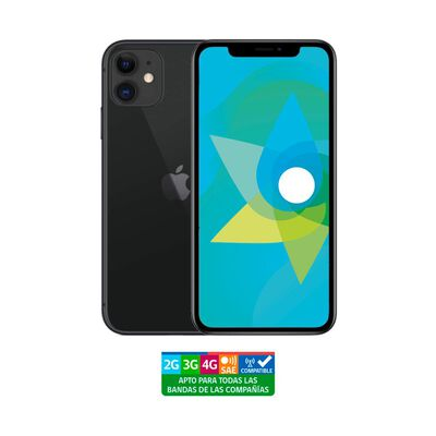 Smartphone Apple Iphone 11 Reacondicionado / 64 Gb / Liberado