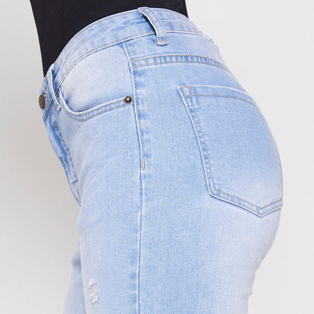 Jeans Skinny Roturas Mujer Kimera image number 3.0