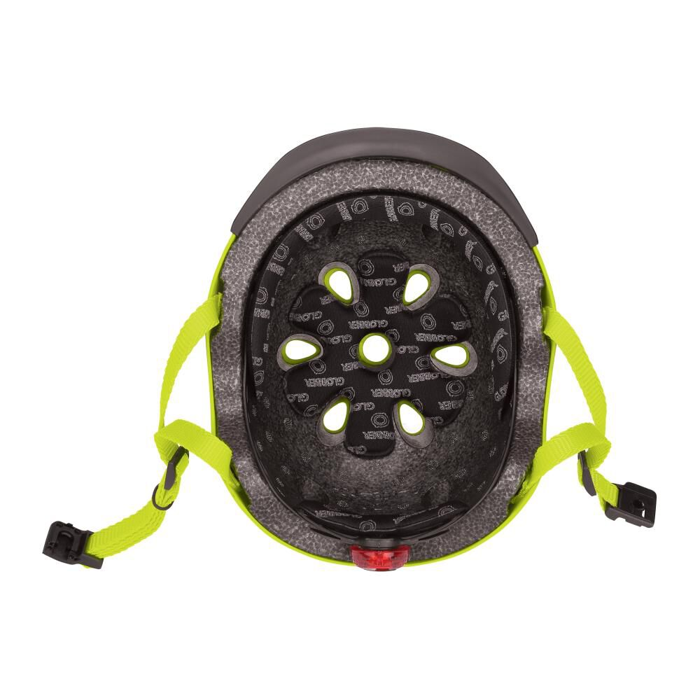 Casco Globber Helmet Elite Lights Lime Xs/S image number 3.0