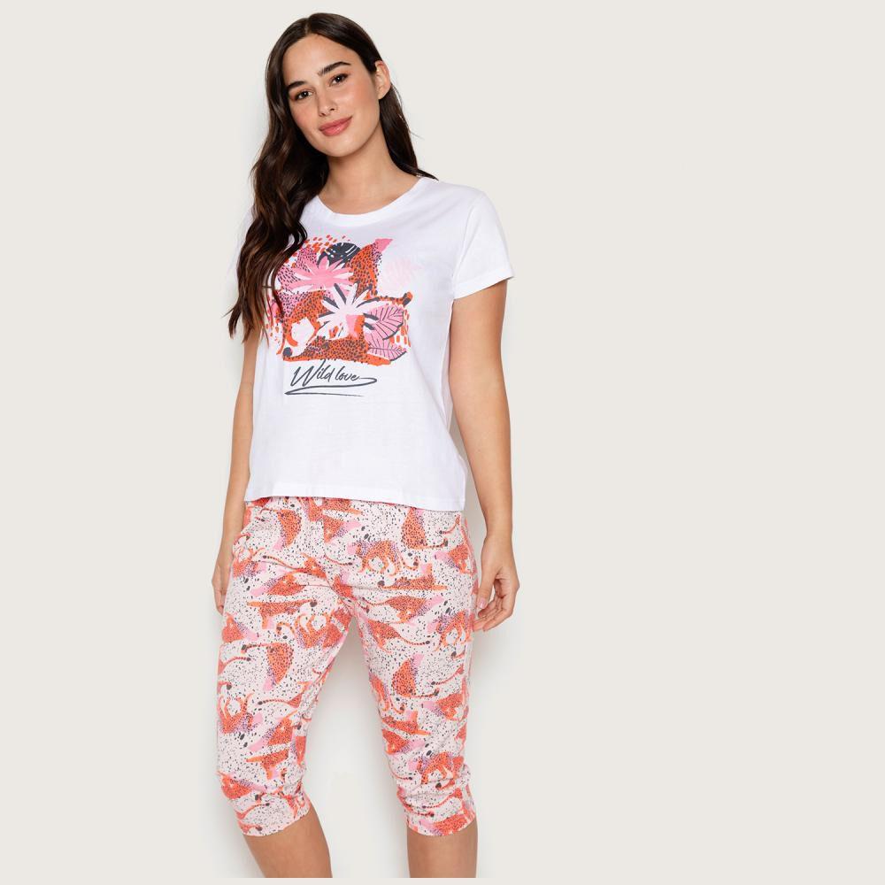 Pijama Mujer Palmers image number 0.0