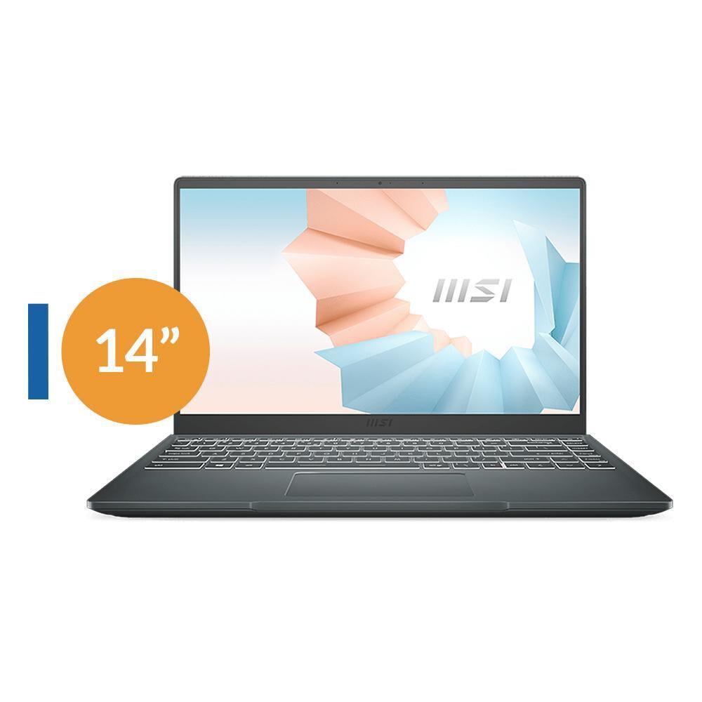 "Notebook Msi Modern 14 B10mw-258cl / Space Gray / Intel Core I5 / 8 Gb Ram / Intel Uhd / 256 Gb Ssd / 14 "" image number 4.0"