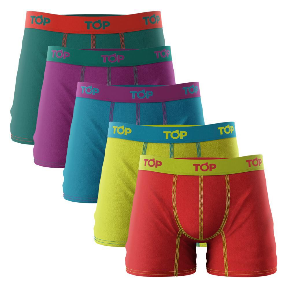 Pack 5 Boxers Hombre Top image number 0.0