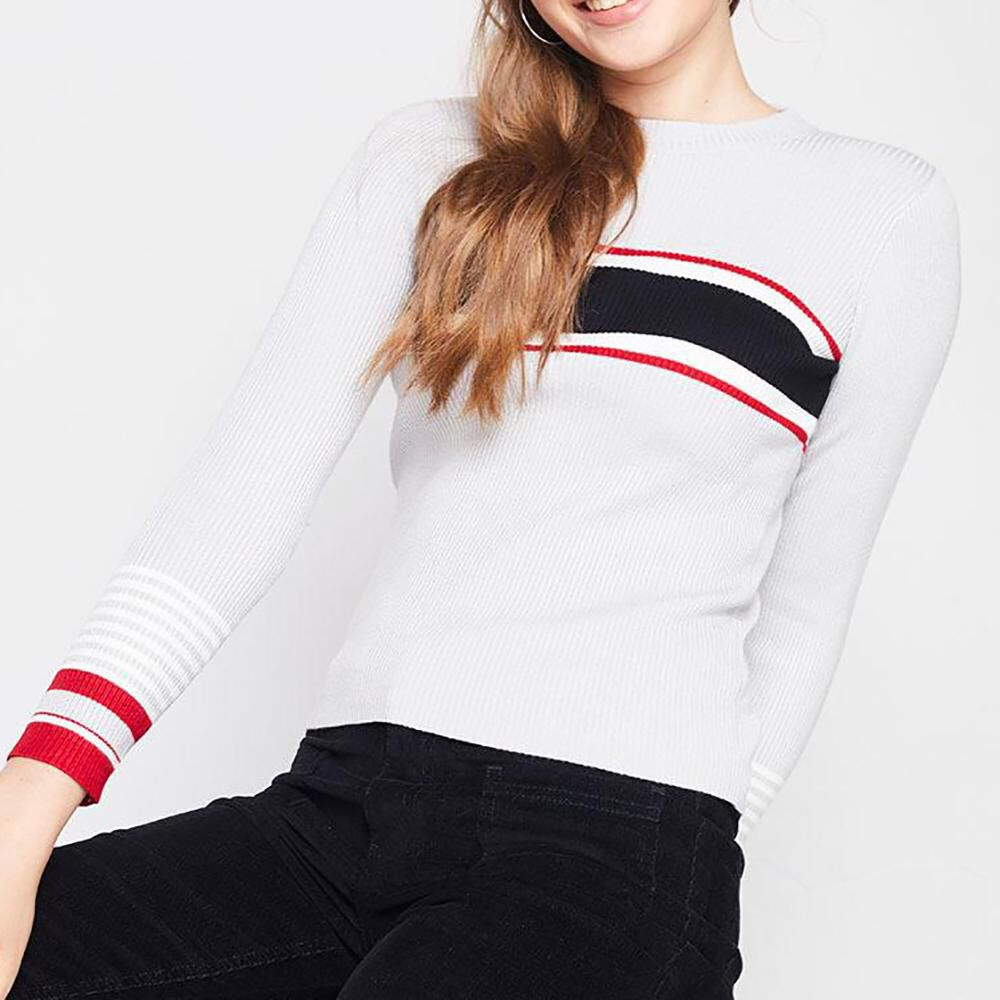Sweater Rayas Mujer Freedom image number 0.0