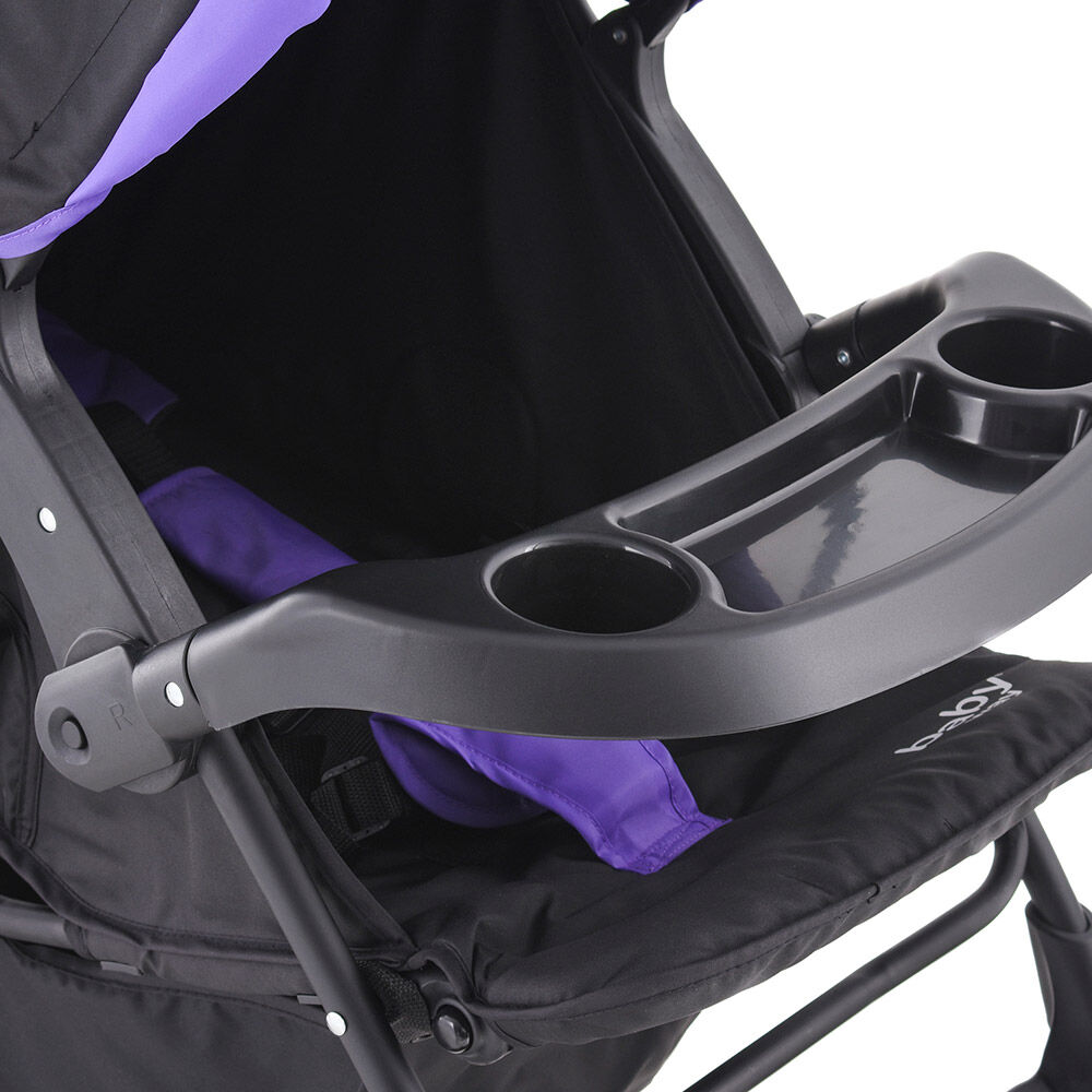 Coche Travel System Baby Way Bw-413M18 image number 6.0
