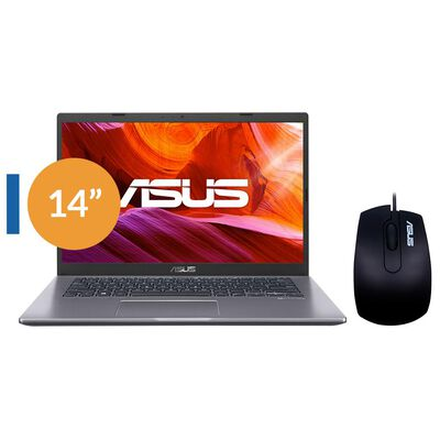 "Notebook Asus X409ma-ek337t / Intel Celeron / 4 Gb Ram / Intel Uhd Graphics 600 / 500 Gb / 14 """