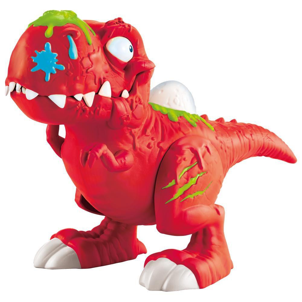 Set De Juguetes Smars Smashers Con Dinosaurio Rex image number 0.0