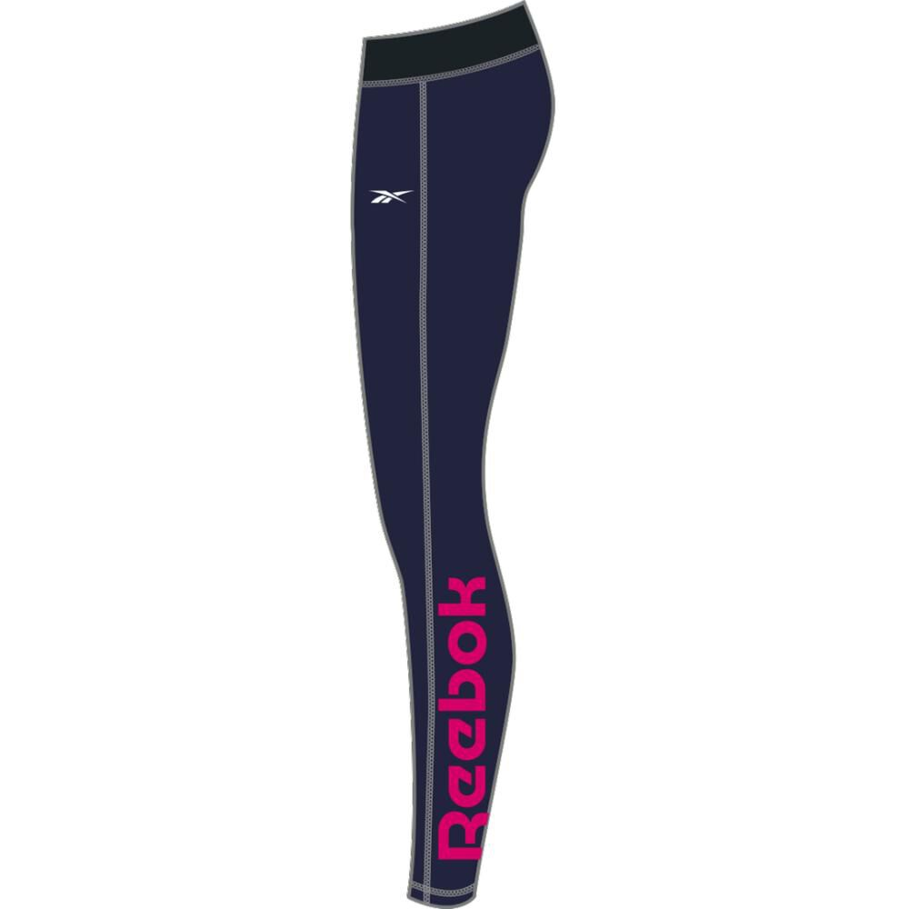 Calza Mujer Reebok Training Essentials Linear Logo image number 6.0