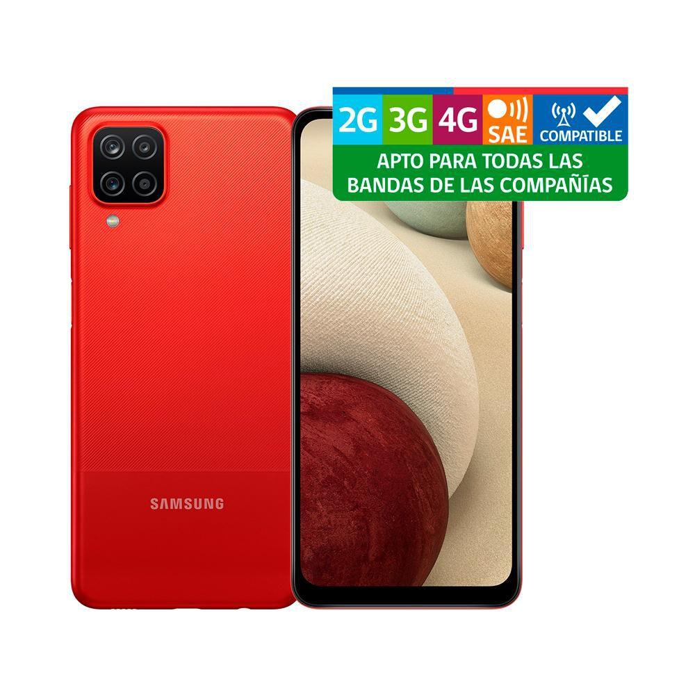 Smartphone Samsung Galaxy A12 Rojo / 128 Gb / Liberado image number 10.0