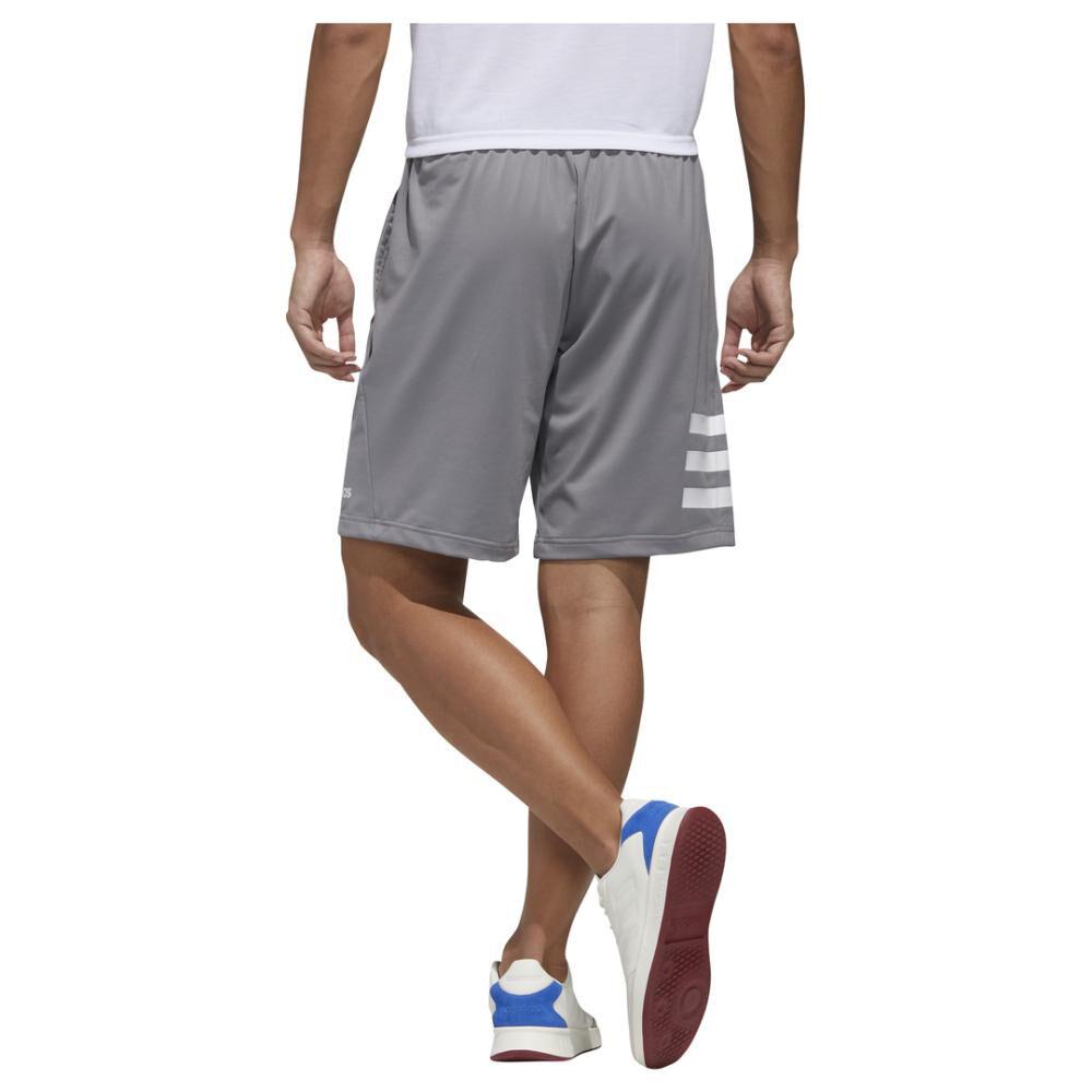 Pantalón Corto Hombre Adidas Designed 2 Move 3 Bandas image number 2.0