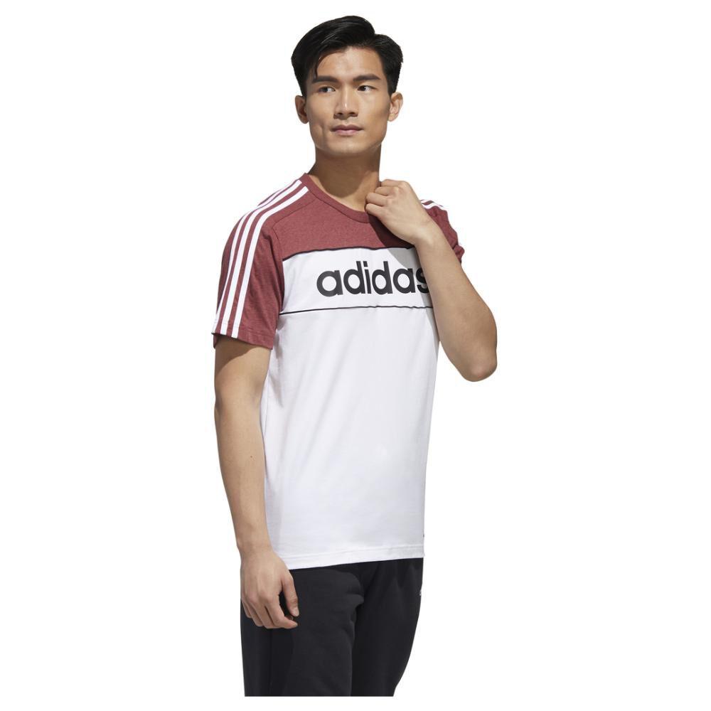 Polera Hombre Adidas Camiseta Essentials Tape image number 4.0
