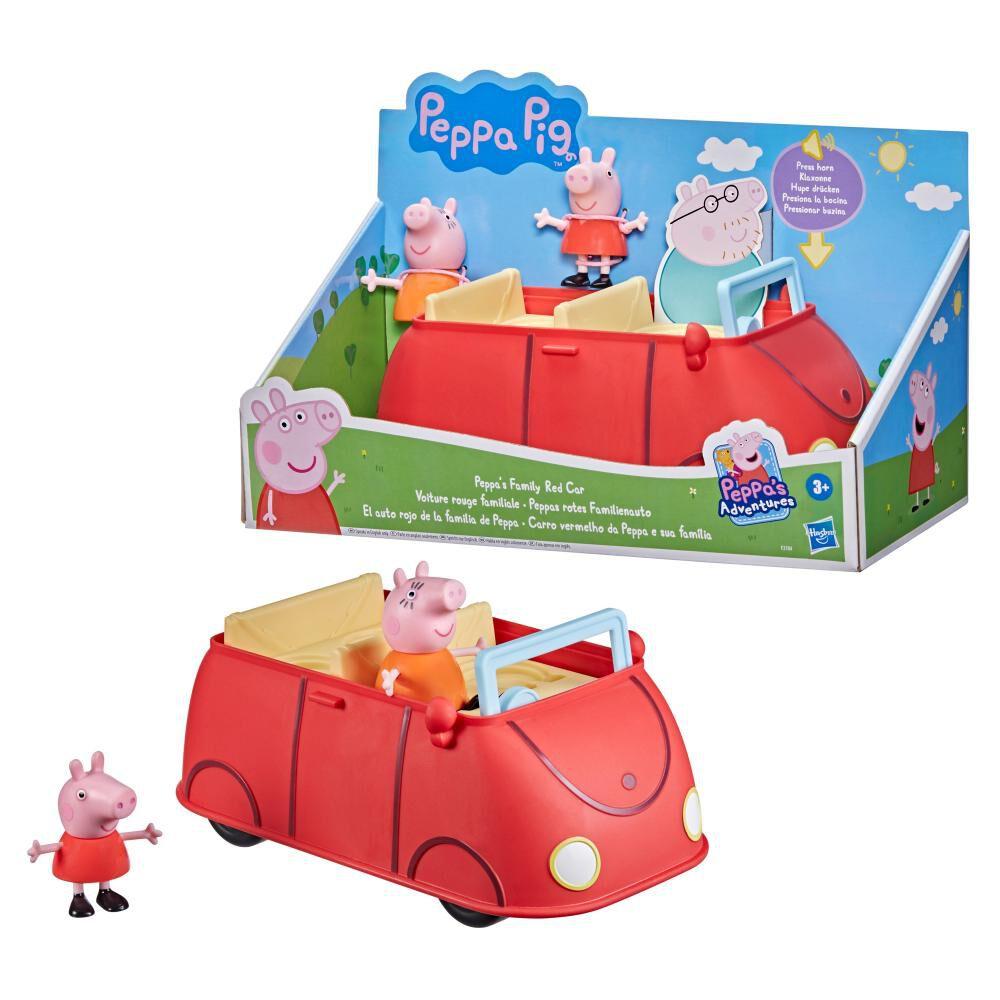 Figura De Acción Peppa Pig Auto Rojo Familiar image number 4.0