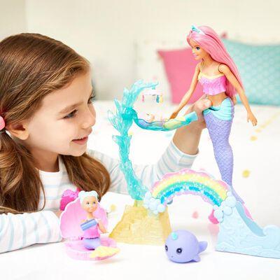 Muñeca Barbie Dreamtopia Guardería De Sirenas