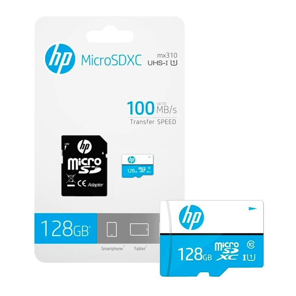 Tarjeta Micro Sd Hp Hfud0128-1u1 / 128 Gb image number 1.0