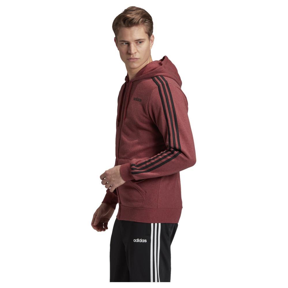 Chaqueta Con Capucha Hombre Adidas Essentials 3 Bandas image number 1.0