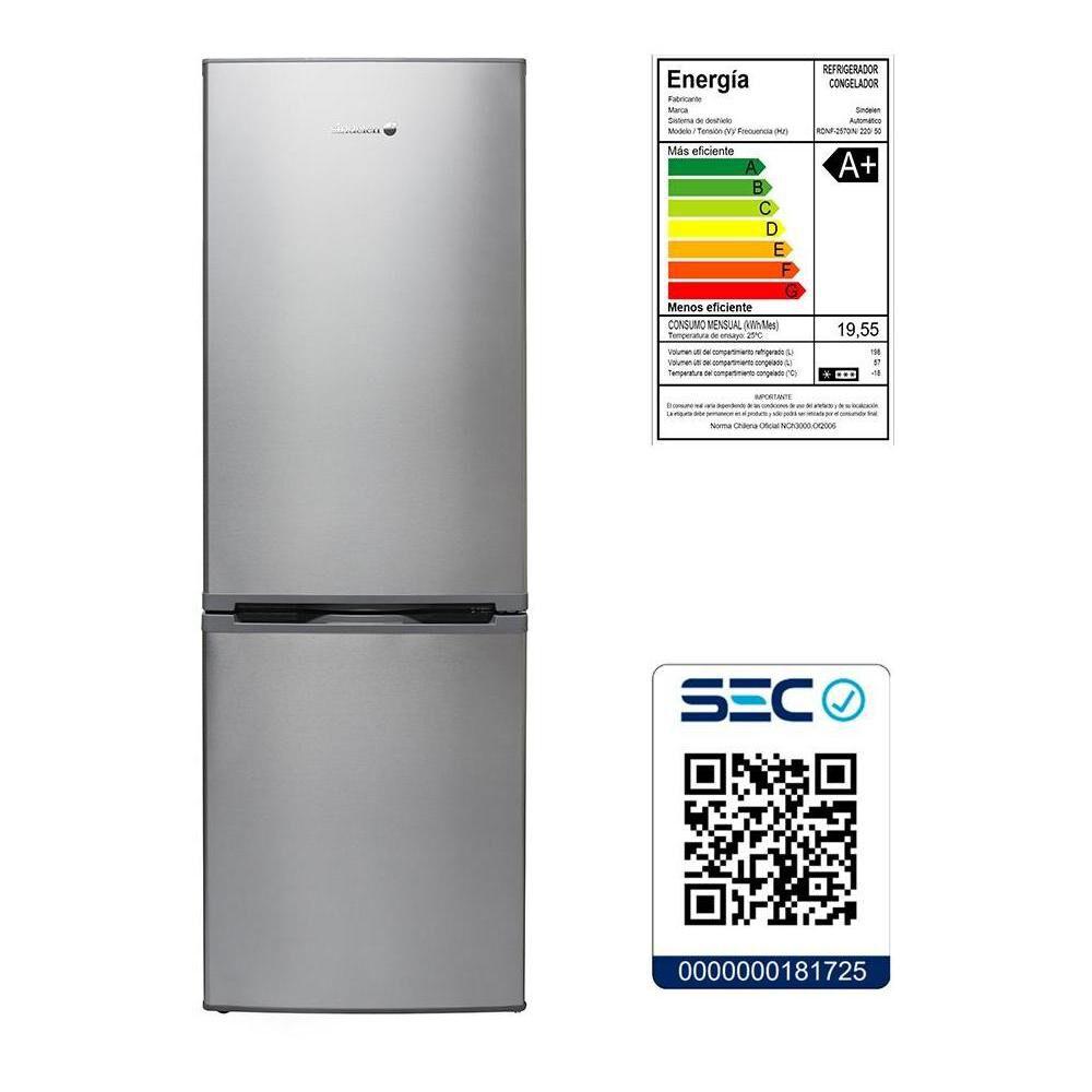 Refrigerador Bottom Freezer Sindelen RDNF-2950IN / No Frost / 295 Litros image number 3.0