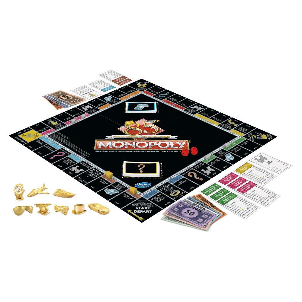 Juegos Familiares Monopoly 85 Aniversario image number 2.0