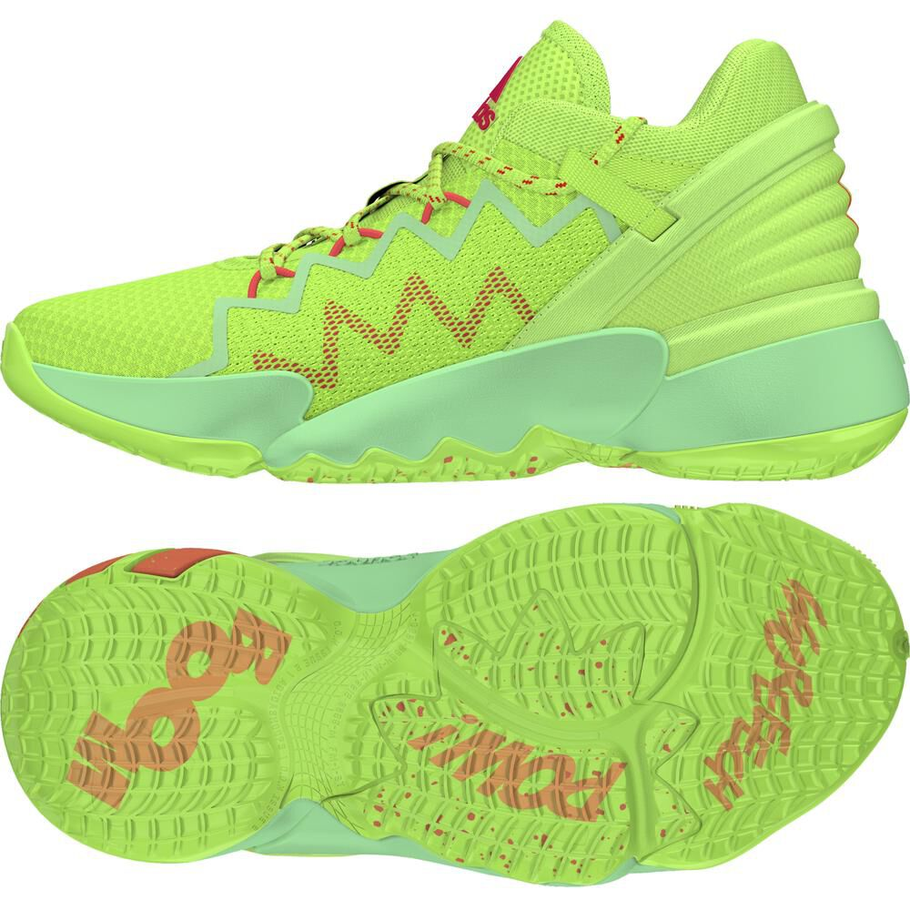 Zapatilla Basketball Juvenil Unisex Adidas D.o.n Issue 2 image number 4.0