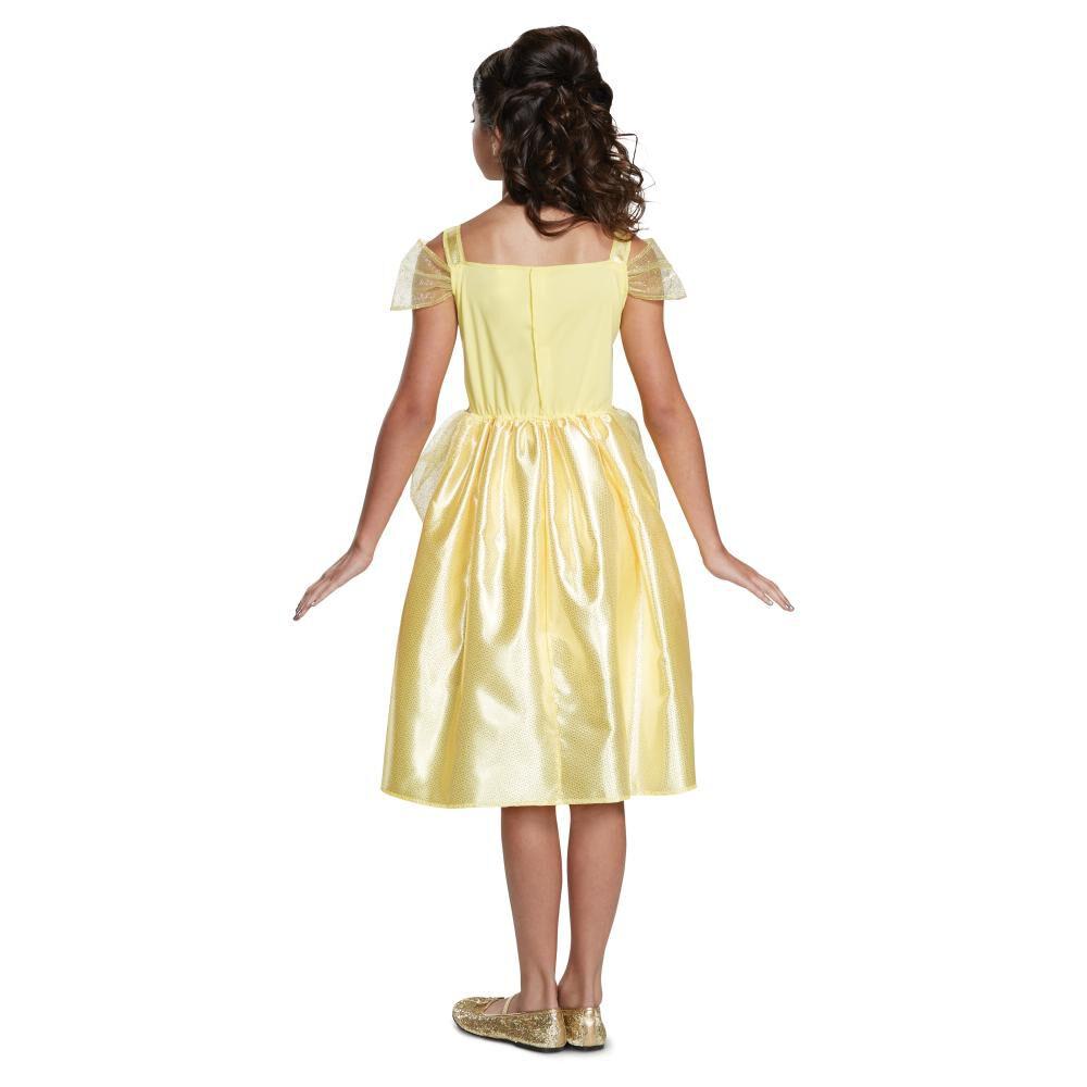 Disfraz Para Niña Princesas Disney Bella Básico image number 1.0