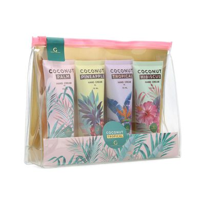 Pack Cremas Geeps Secret Coconut Tropical