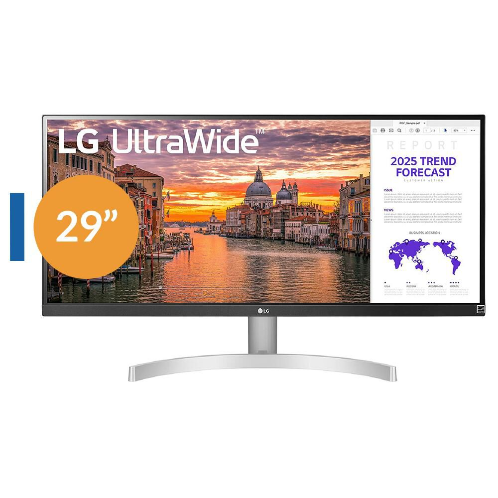 Monitor Lg 29wn600-w.awh / 29'' / Full Hd Wide image number 0.0