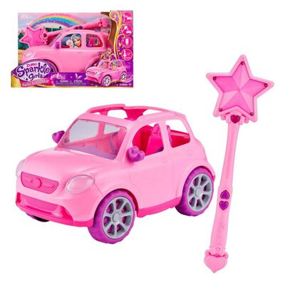 Auto Radiocontrolado Sparkle Girlz Con Varita Mágica
