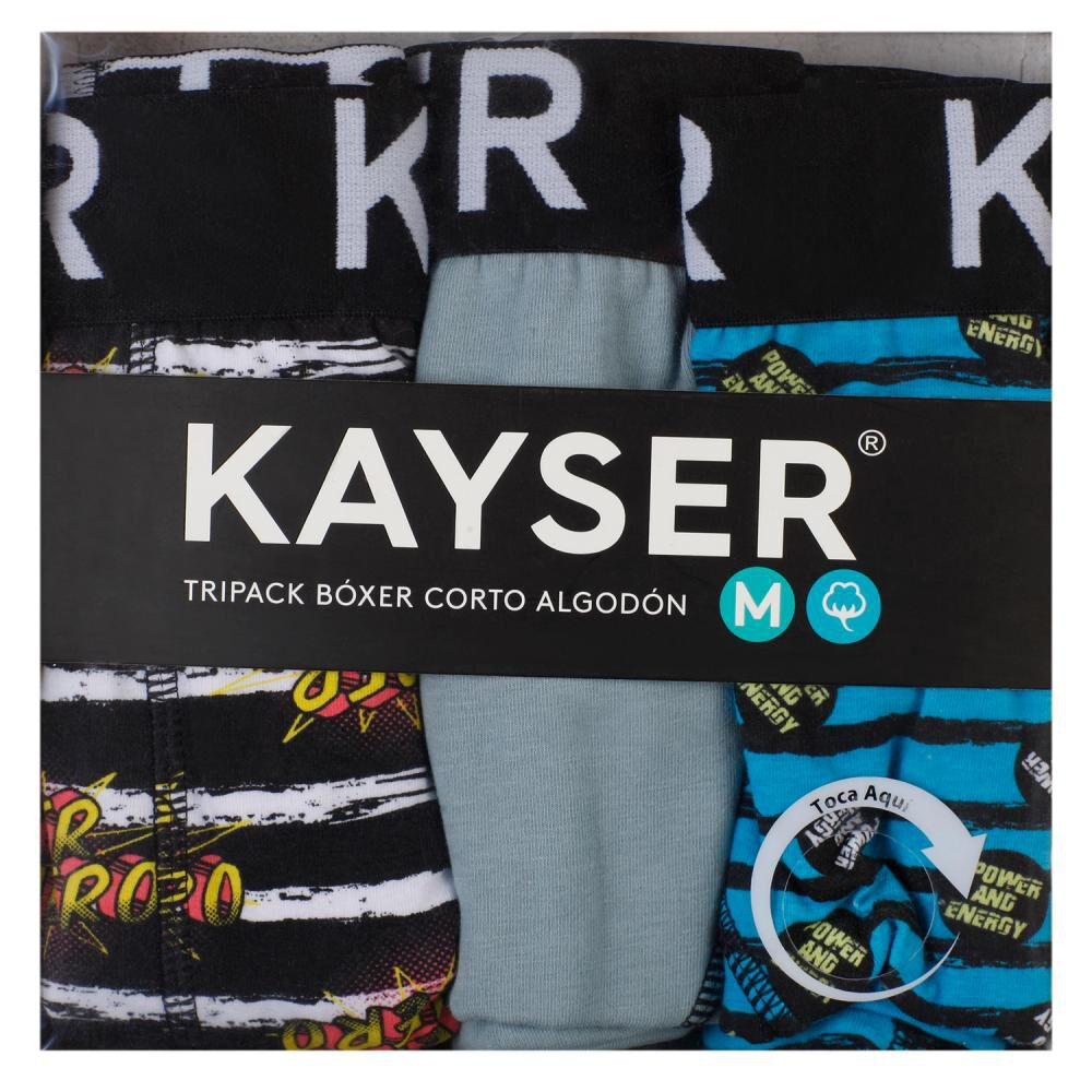 Pack Boxer Hombre Kayser / 3 Unidades image number 0.0