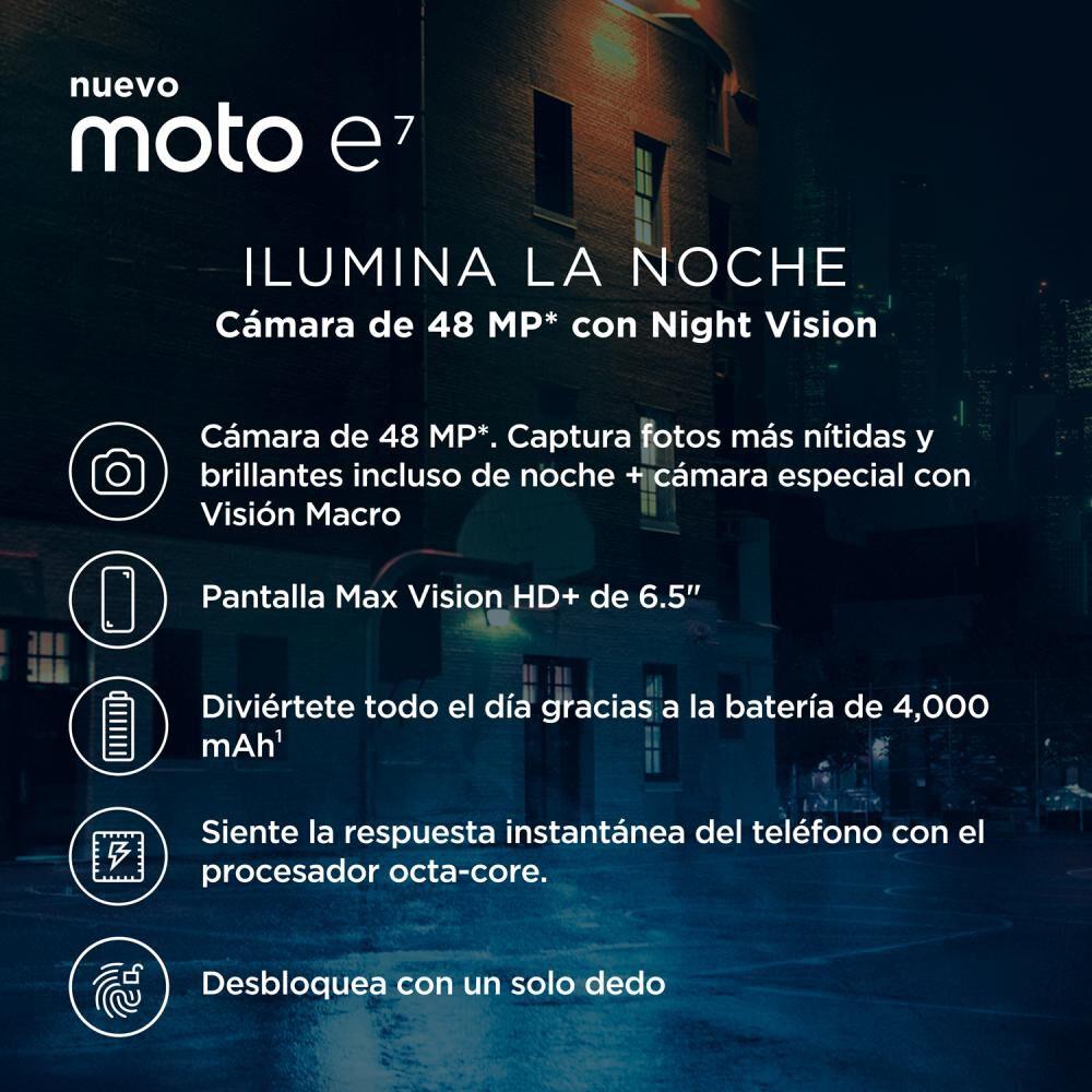 Smartphone Motorola E7 / 32 Gb / Liberado image number 3.0