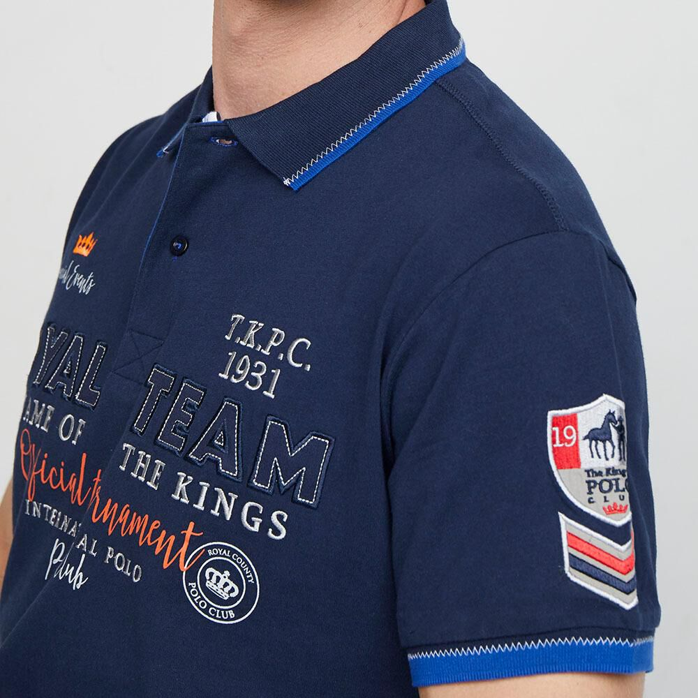 Polera  Hombre The King'S Polo Club image number 3.0