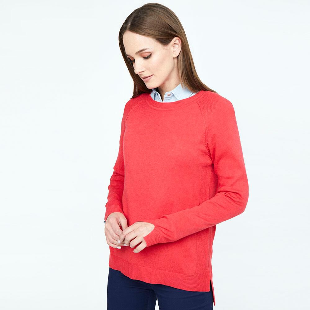 Sweater Liso Largo Mujer Geeps image number 0.0
