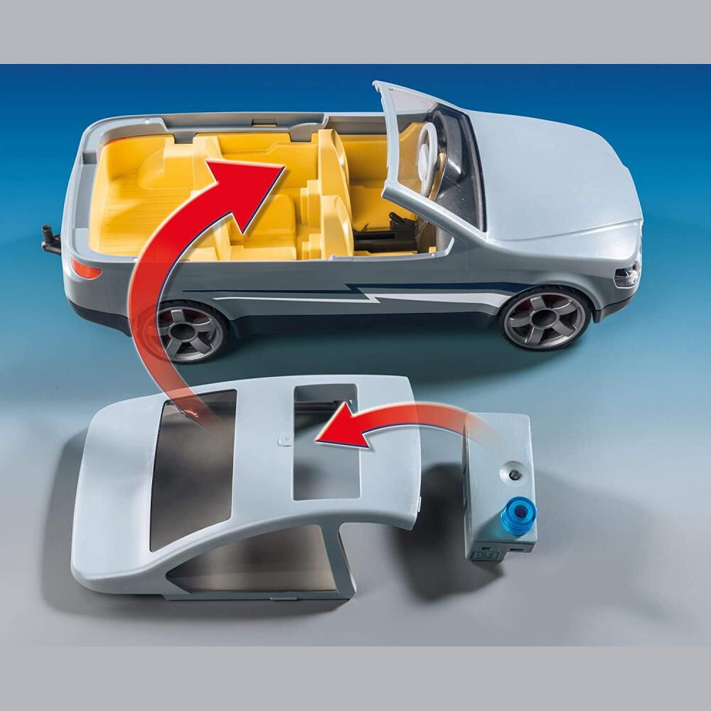 Figura De Acción Playmobil Coche Civil De Las Fuerzas Especiales image number 3.0