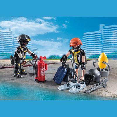 Figura De Acción Playmobil Equipo De Las Fuerzas Especiales