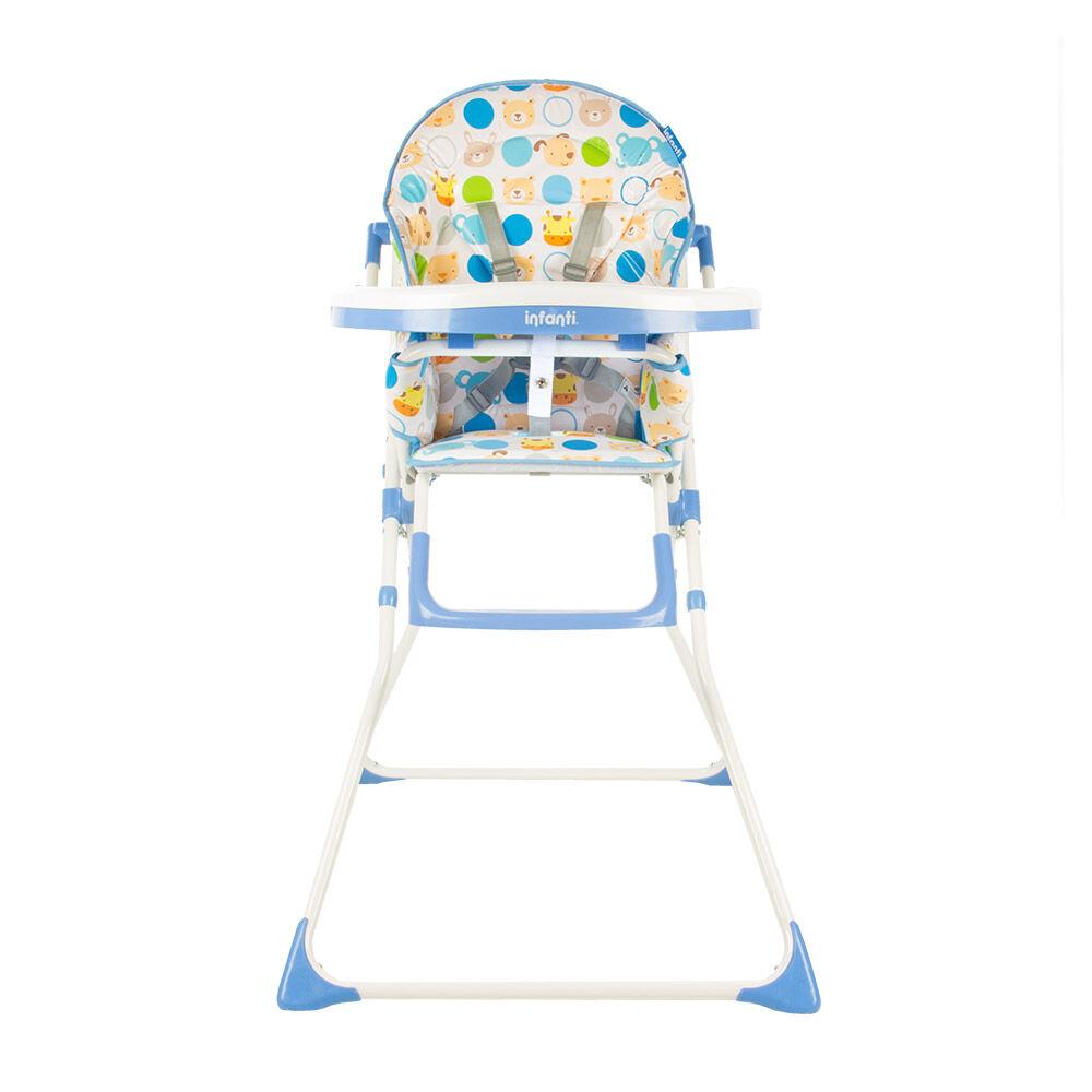 Silla De Comer Infanti Zoo Blue image number 1.0