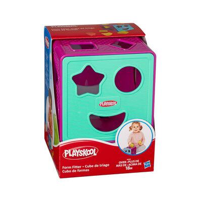 Juego Didáctico Hasbro Playskool Cubo De Formas