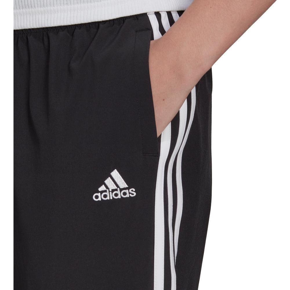 Pantalón De Buzo Mujer Adidas Essentials Woven 3-stripes 7/8 image number 3.0
