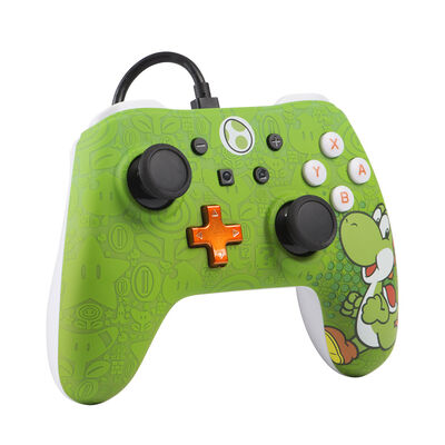 Control Nintendo Wired Controller Yoshi